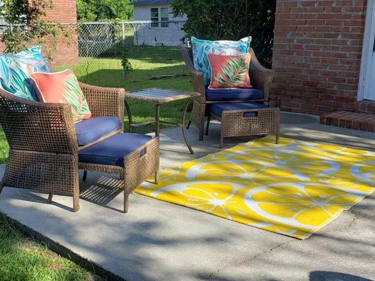 Courtyard Sitting at Savannah Court of Camilla, Georgia, 31730
