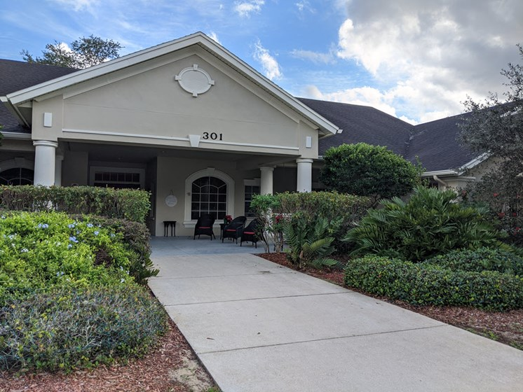 Front Entrance To The Property at Savannah Court of Haines City, Florida