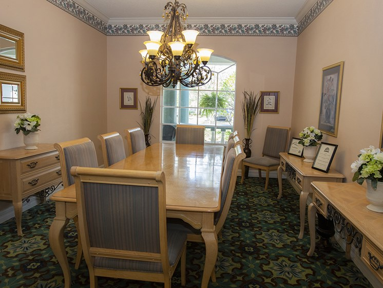 Conference Room at Savannah Court of Haines City, Florida, 33844