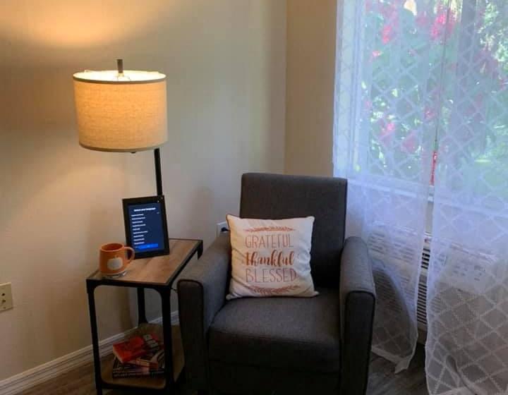 Comfortable Sofa Chair at Savannah Court of St Cloud, St Cloud, FL, 34769