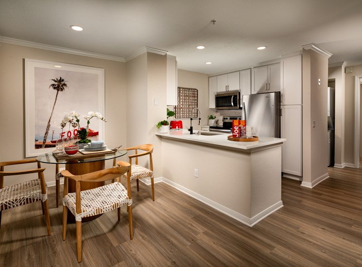 Two Bedroom Dining Kitchen