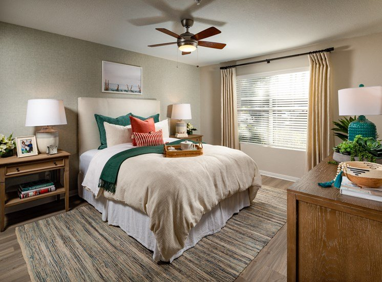Two Bedroom Master Bed