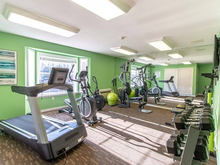 Fairfield apartments private fitness center