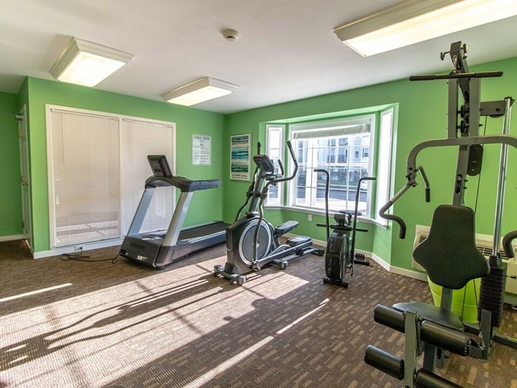 Fairfield apartments private gym for residents