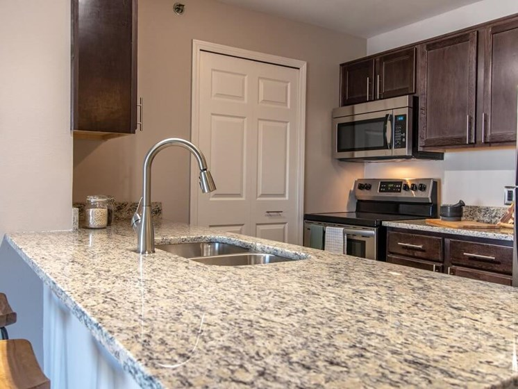 Fairfield apartments with nice kitchen