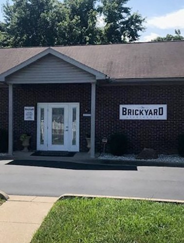 Leasing Office at The Brickyard Apartments