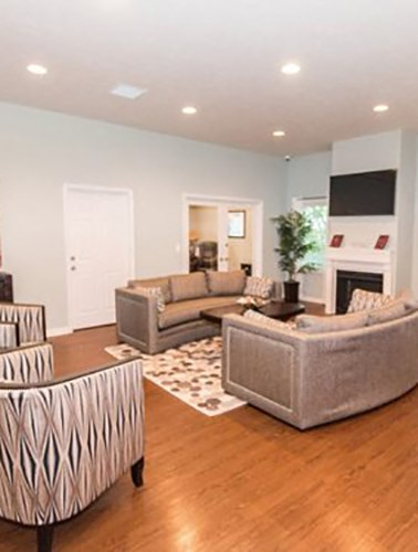 clubhouse at the Brickyard Apartments