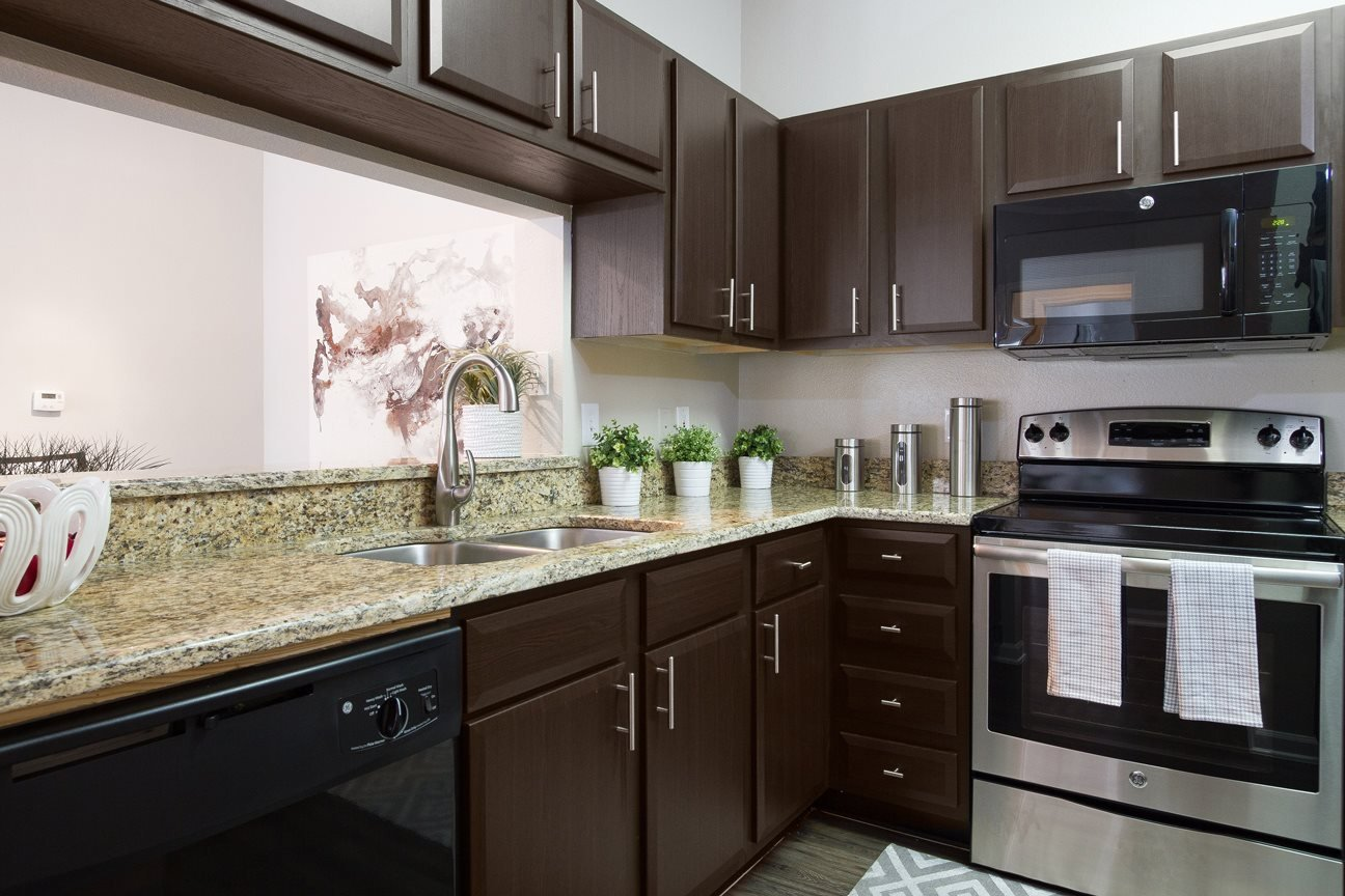 Gourmet Kitchen at The Preserve at Tampa Palms Apartments in Tampa, FL
