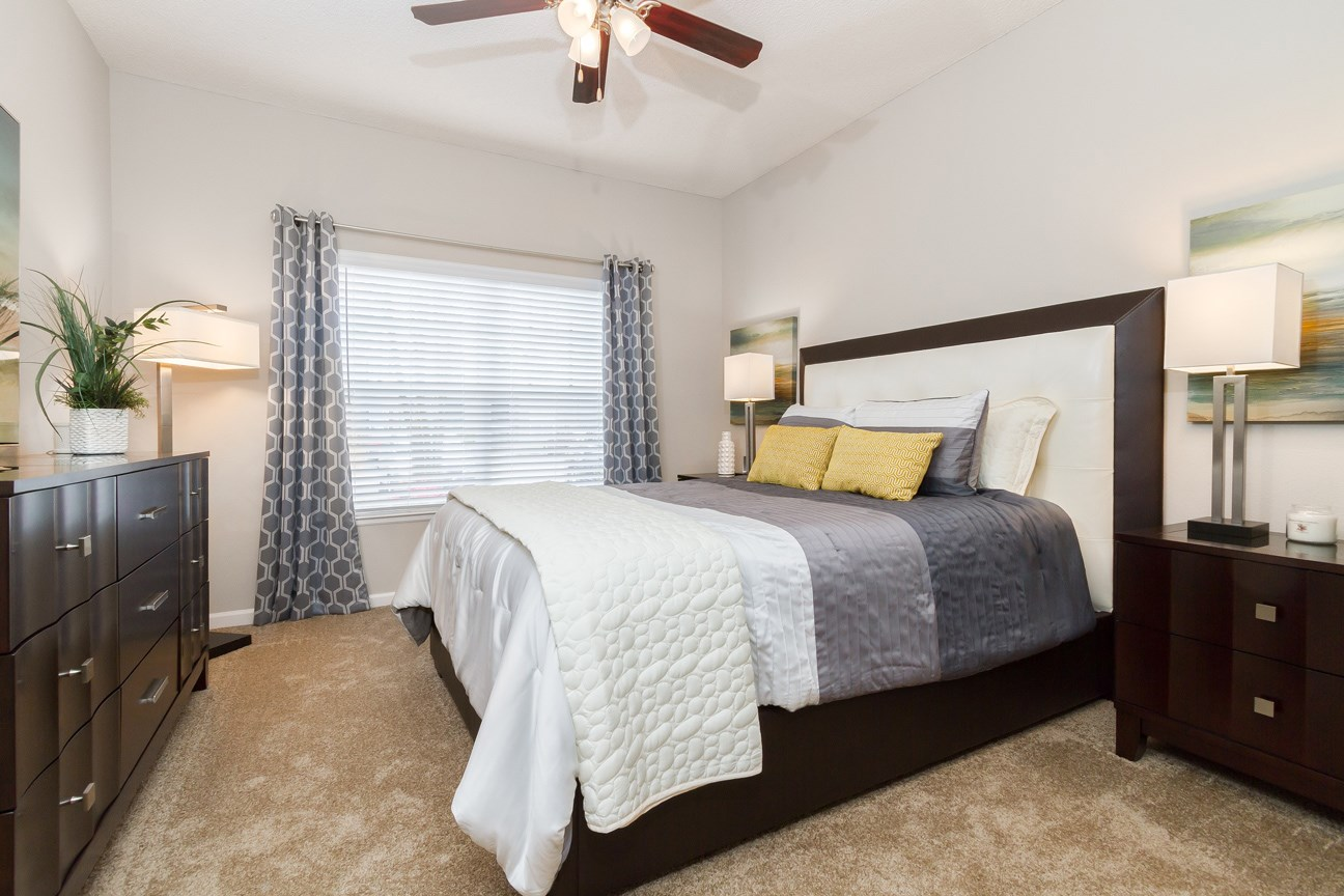 Bedroom at The Preserve at Tampa Palms Apartments in Tampa, FL