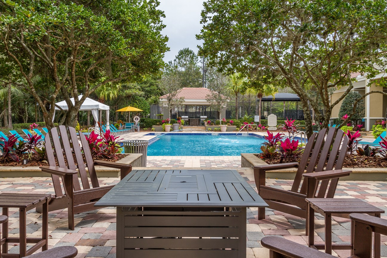 Sun Deck at The Preserve at Tampa Palms Apartments in Tampa, FL