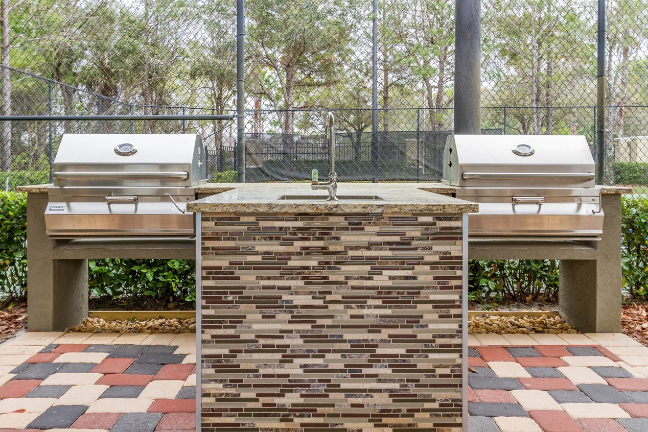 Grills at The Preserve at Tampa Palms Apartments in Tampa, FL