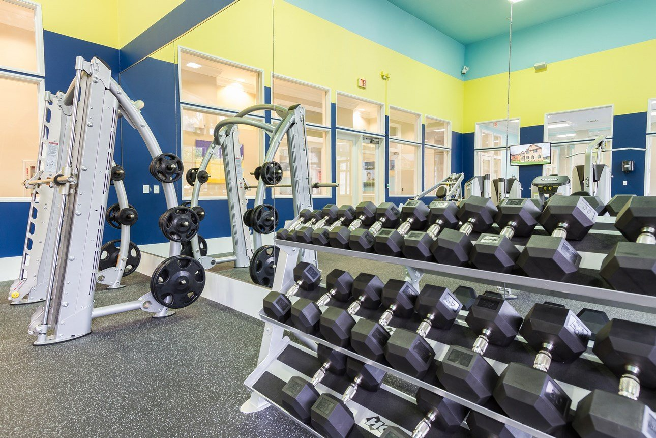 Fitness Center at The Preserve at Tampa Palms Apartments in Tampa, FL