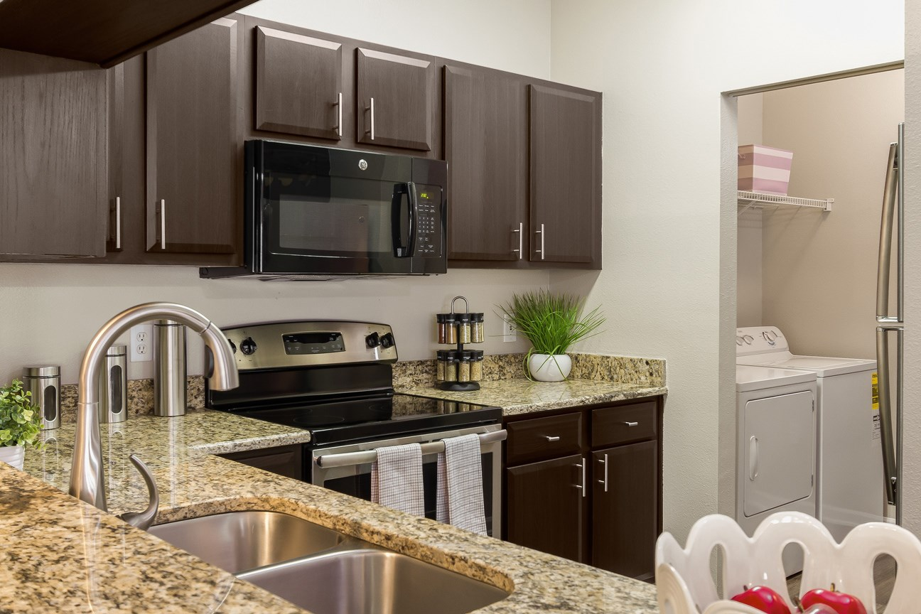 Kitchen at The Preserve at Tampa Palms Apartments in Tampa, FL