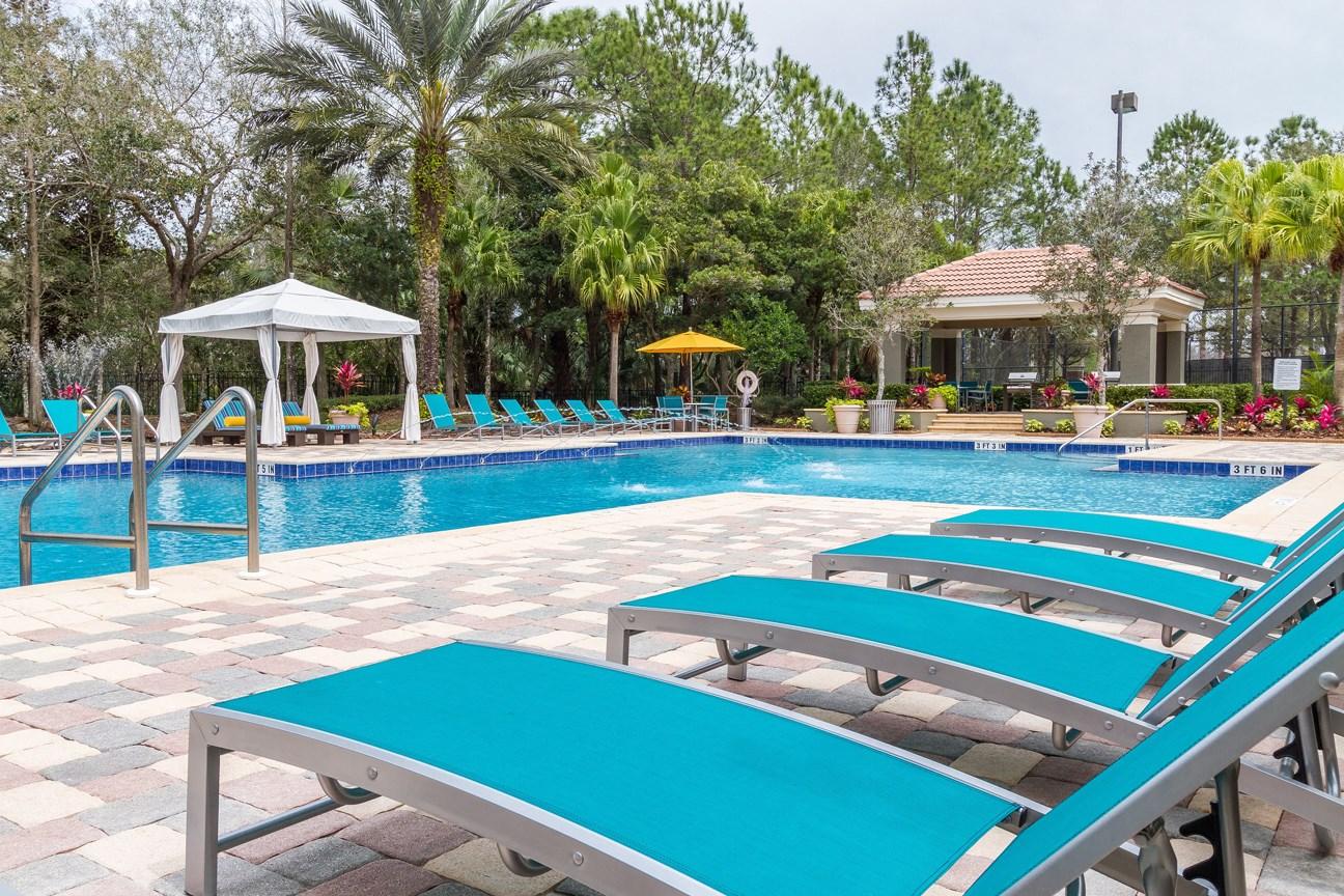 Swimming Pool at The Preserve at Tampa Palms Apartments in Tampa, FL