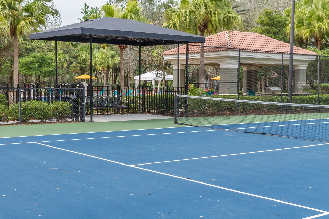 Tennis Court at The Preserve at Tampa Palms Apartments in Tampa, FL