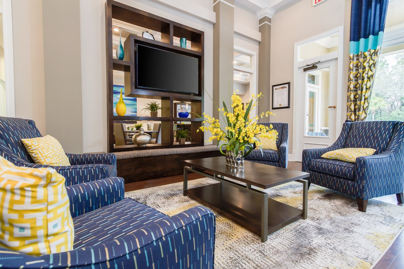 Clubhouse at The Preserve at Tampa Palms Apartments in Tampa, FL