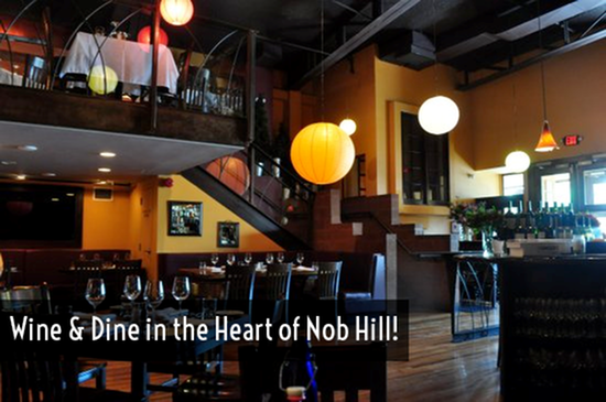 Wine and dine in Nob Hill