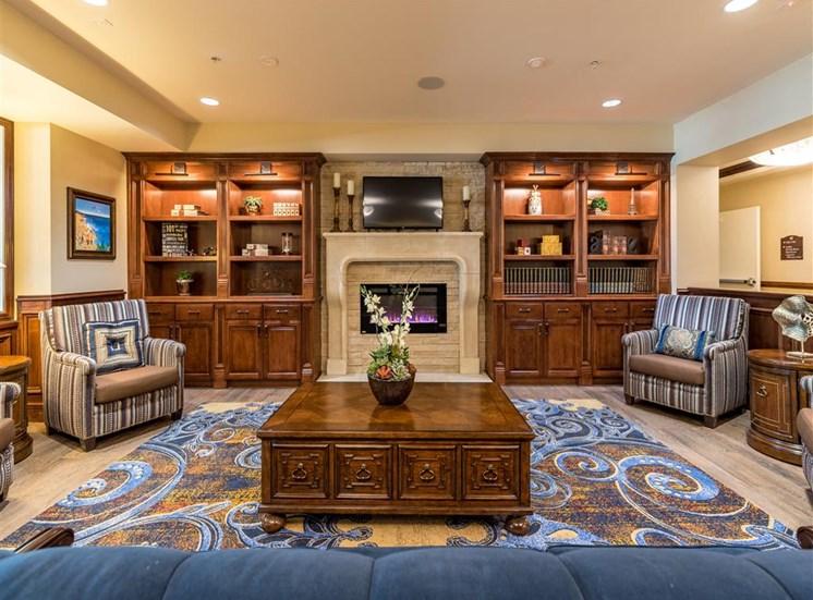 Spacious Lounge Room with TV at Pacifica Senior Living Oxnard, Oxnard, 93036