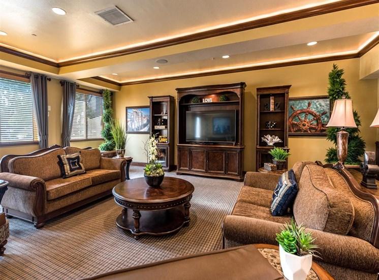 Comfortable Seating in Community Living Room  at Pacifica Senior Living Oxnard, Ventura County, California