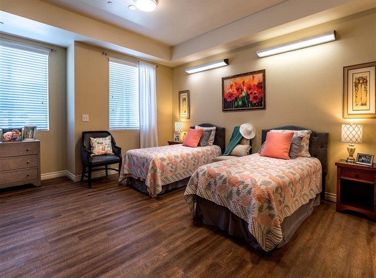Double Room with Sunny Window  at Pacifica Senior Living Oxnard, Oxnard, CA