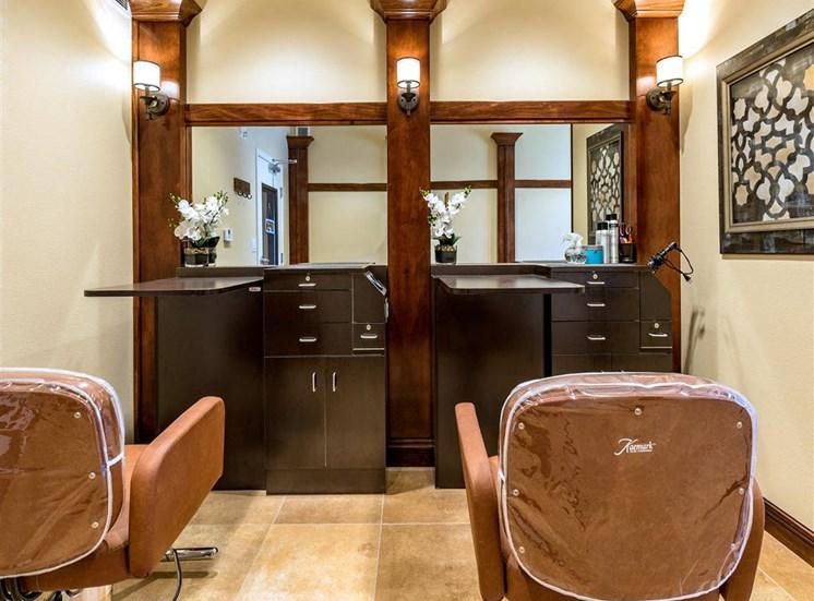 Luxury Beauty Salon   at Pacifica Senior Living Oxnard, Oxnard, California