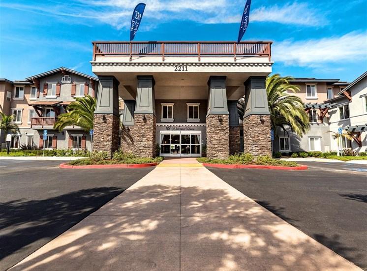 Elegant Walk To Entrance   at Pacifica Senior Living Oxnard, Oxnard, California
