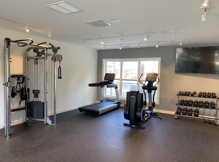 Newly Renovated Fitness Center