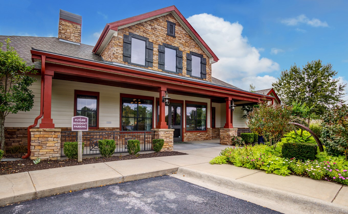 Exterior at The Ranch at Pinnacle Point Apartments in Rogers, AR