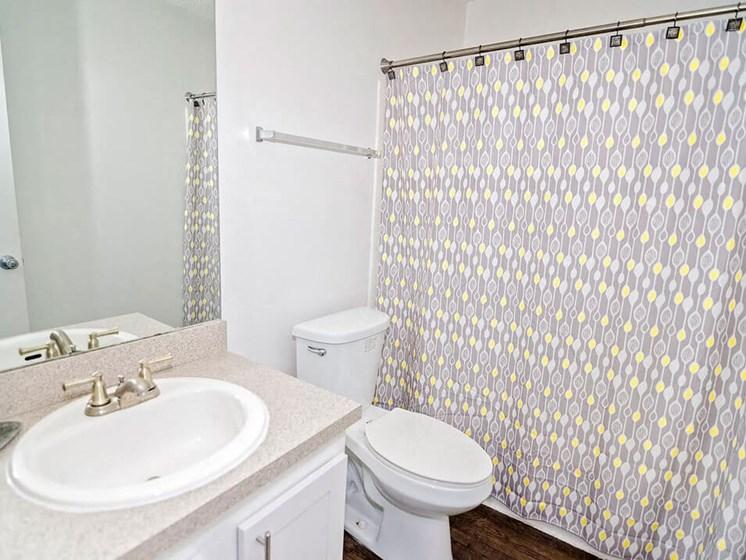 bathroom at 21 south apartments