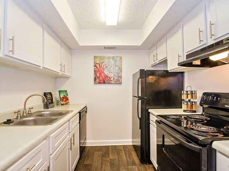 spacious kitchen at 21 south aparmtents