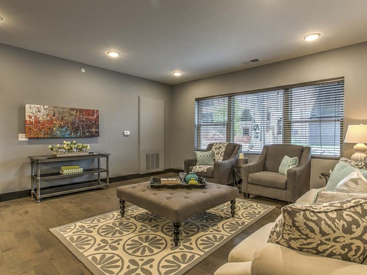Beautiful furnished living room at The Helen