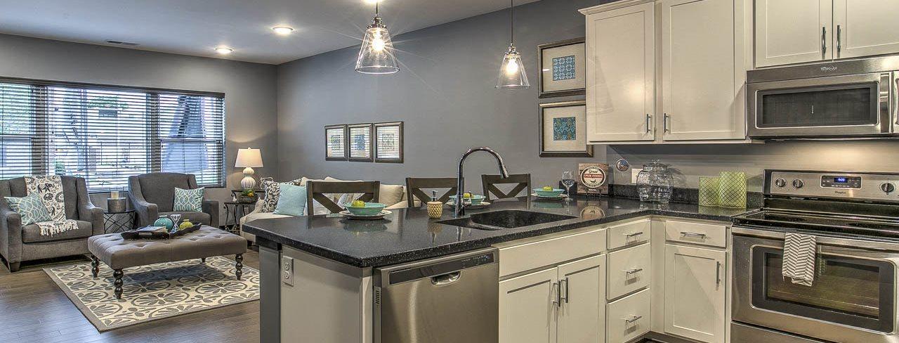 The Helen new luxury apartments in the Blackstone District near Midtown Omaha NE 68105