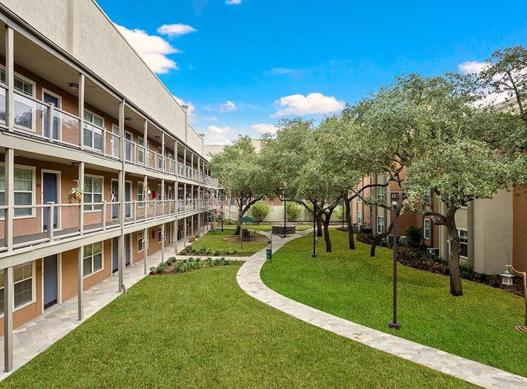 Lush Green Outdoor Spaces at NewForest Estates, San Antonio, TX, 78229