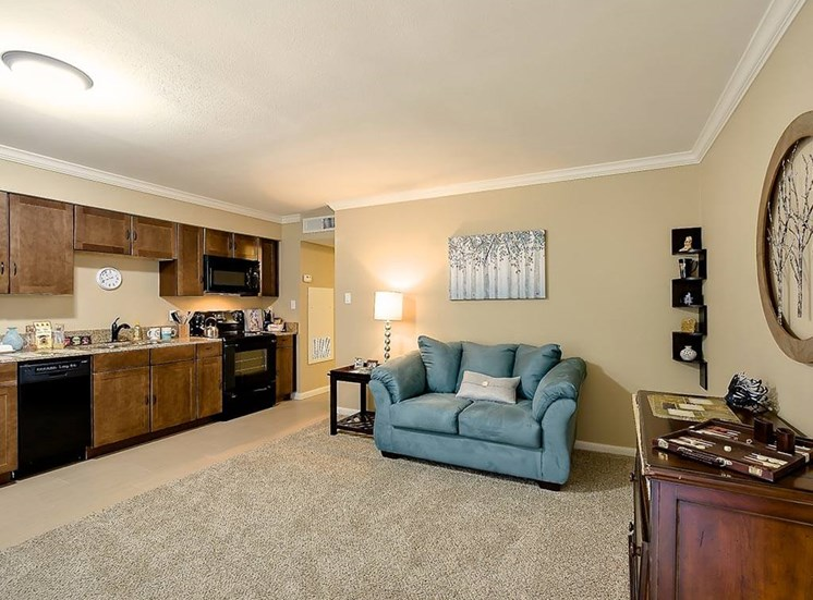 Updated appliances in Kitchen Area at NewForest Estates, Texas