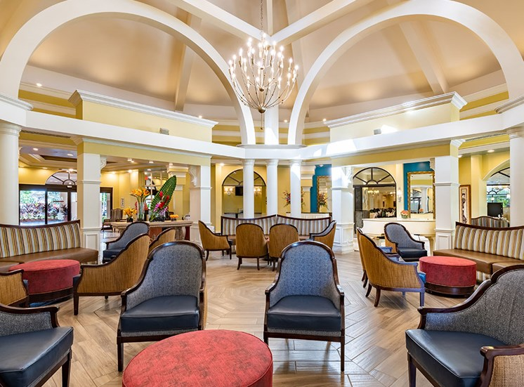 Full Service Club House at Pacifica Senior Living Forest Trace, Florida
