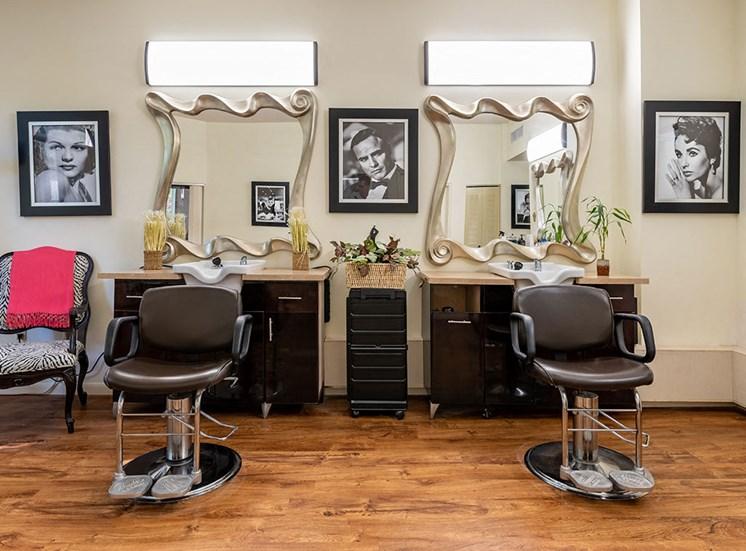 Beauty Salon at Pacifica Senior Living Forest Trace, Lauderhill, 33319