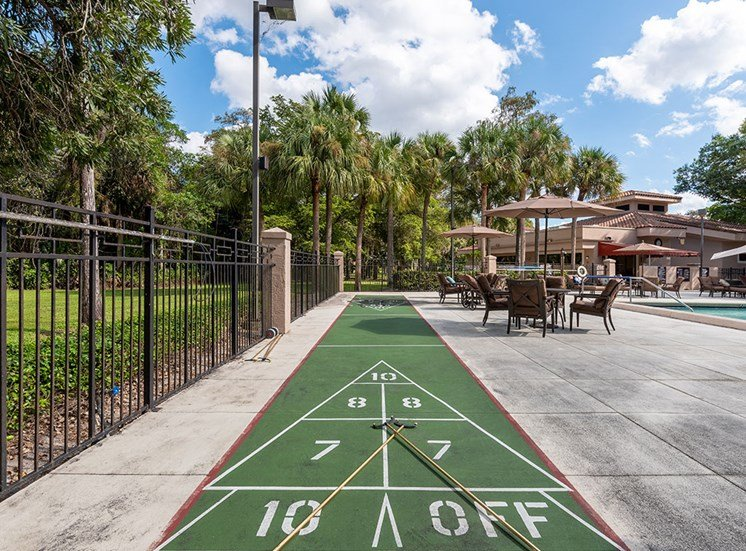 Outdoor Games at Pacifica Senior Living Forest Trace, Florida