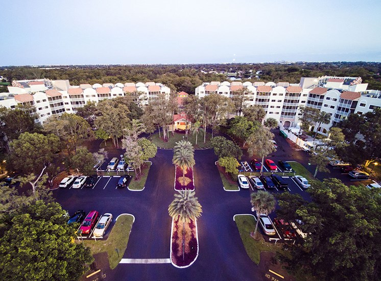 Aerial View Of Property at Pacifica Senior Living Forest Trace, Lauderhill, Florida