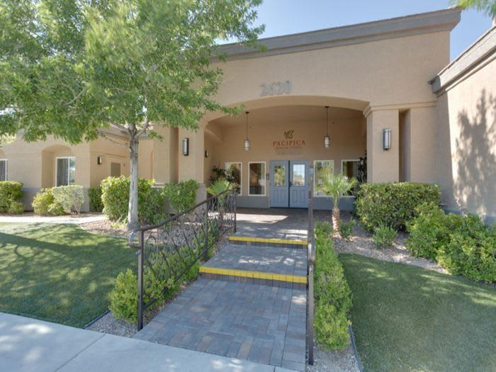 Welcome at Pacifica Senior Living Green Valley