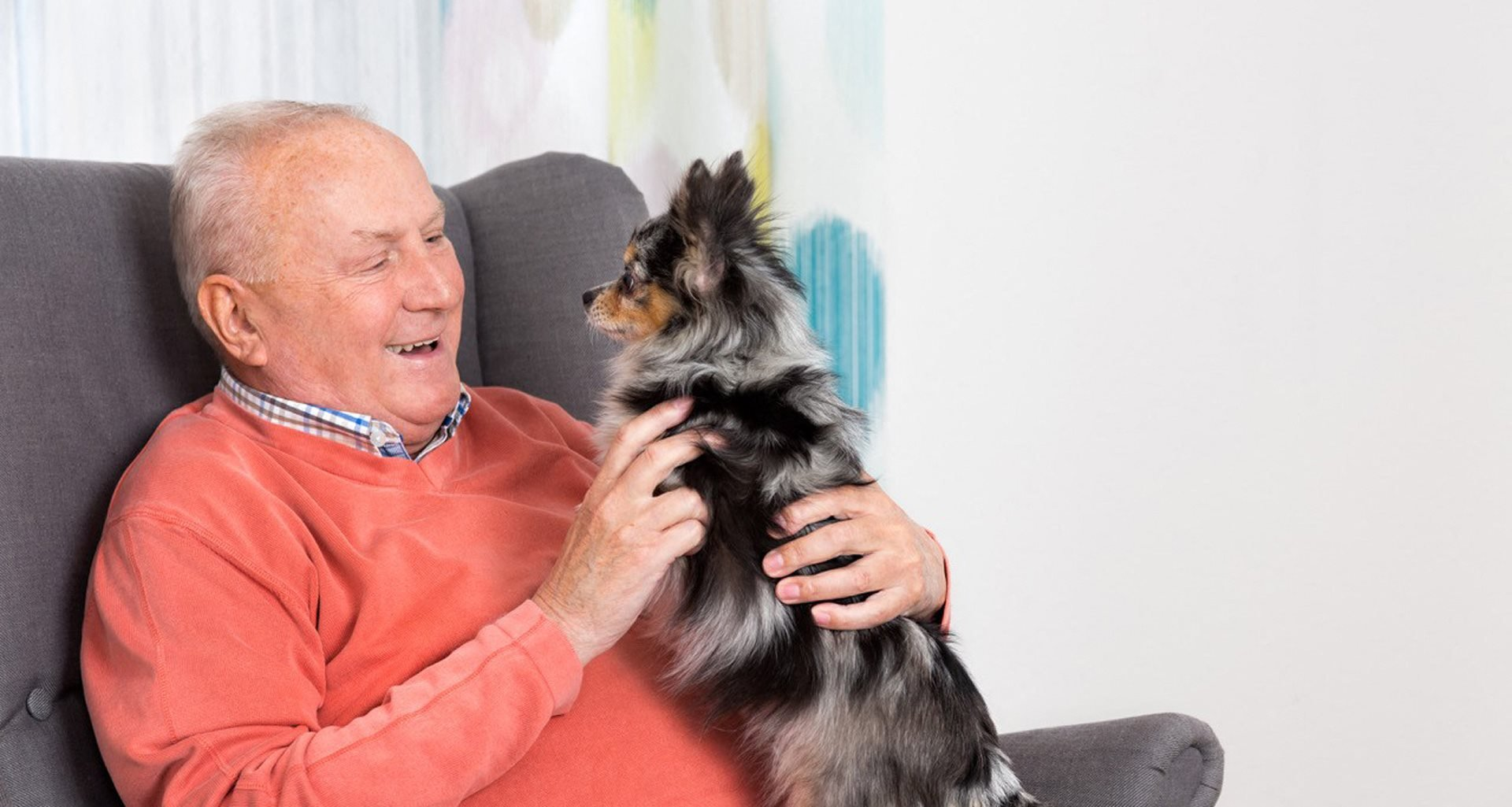 Animal-assisted therapy at Pacifica Senior Living Santa Barbara, Santa Barbara
