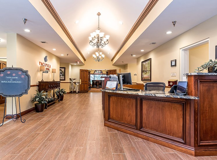 Reception Office at Pacifica Senior Living Skylyn, Spartanburg, 29307