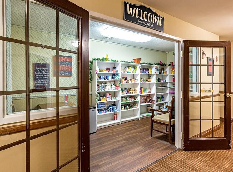 American Country Store at Pacifica Senior Living Skylyn, Spartanburg, South Carolina