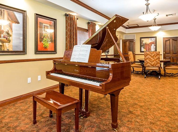 Essex Grand Piano at Pacifica Senior Living Skylyn, Spartanburg