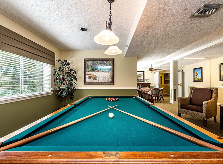 Game Room at Pacifica Senior Living Skylyn, South Carolina, 29307