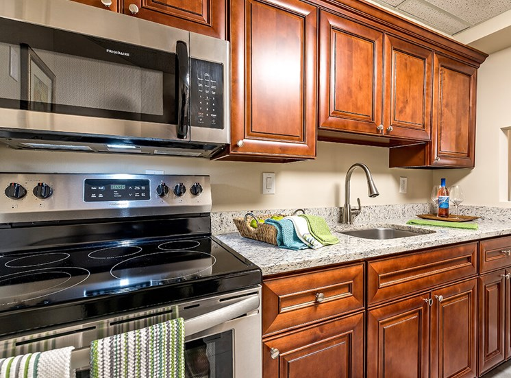 Fully Equipped Kitchen at Pacifica Senior Living Skylyn, Spartanburg, 29307