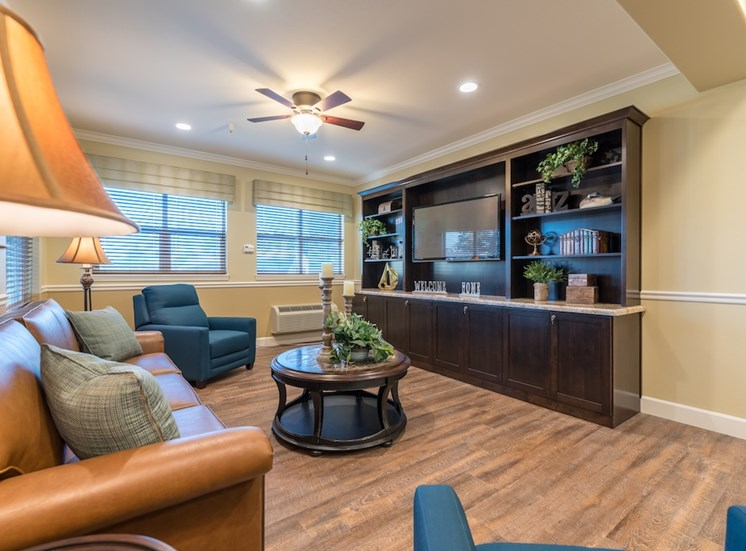 Huge Social Living Rooms at Pacifica Senior Living Vancouver, WA