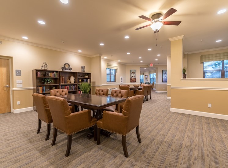 Large Community Sitting Rooms at Pacifica Senior Living Vancouver, WA