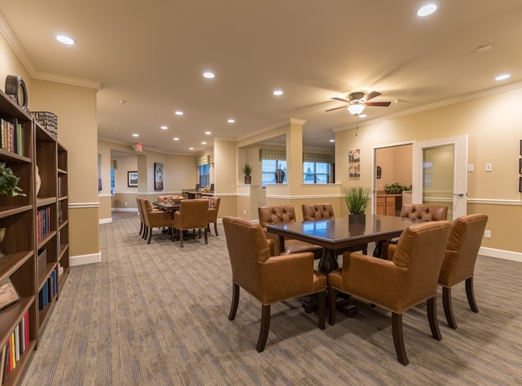 Quiet and Spacious Reading Space at Pacifica Senior Living Vancouver, Washington, 98684