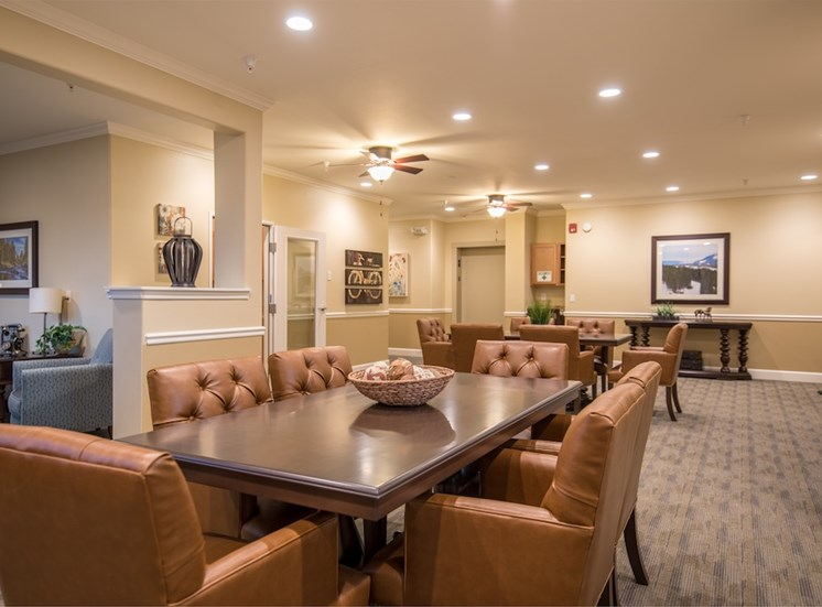 Lively Living Rooms at Pacifica Senior Living Vancouver, Washington, 98684