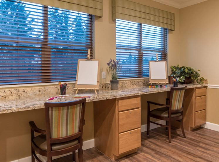 Painting Supplies Available at Pacifica Senior Living Vancouver, WA 98684